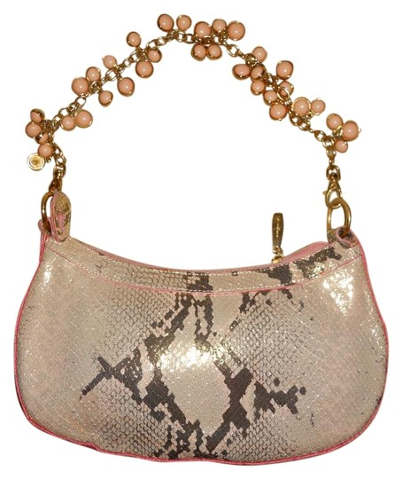 Preload https://img-static.tradesy.com/item/15858025/berge-snakeskin-print-clutch-gold-bronze-and-pink-leather-straw-shoulder-bag-0-1-540-540.jpg