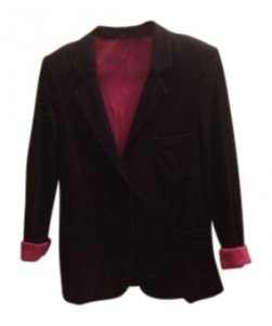 Material Girl (by Madonna) Black Blazer