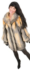 Saga Furs Plus Size Fur Fur Fur Coat