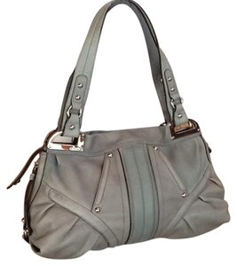 B. Makowsky Satchel in Green Grey