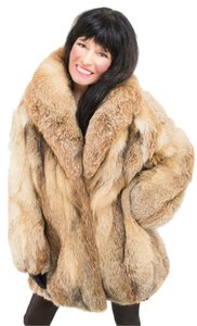 Saga Furs Plus Size Fur Coat