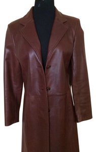 Vakko Brown Leather Jacket