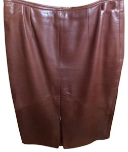 Vakko Skirt Brown