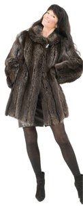 Saga Furs Fur Raccoon Fur Raccoon Fur Coat