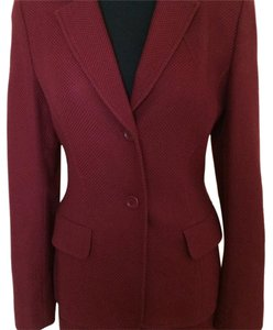 Philip Adec Philip Adec burgundy skirt suit
