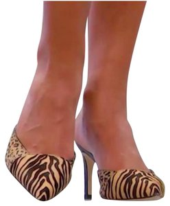Sam Edelman Calf Hair Pump Animal Print Mules