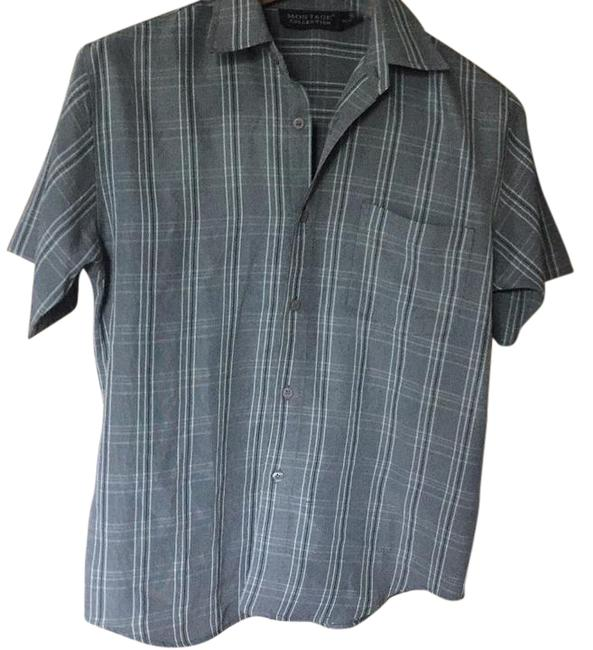 Item - None Button-down Top Size 8 (M)