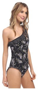 Michael Kors Michael Kors Wisteria Ruffle One Shoulder Maillot