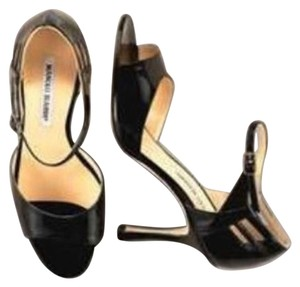 Manolo Blahnik Limited Edition Black Pumps