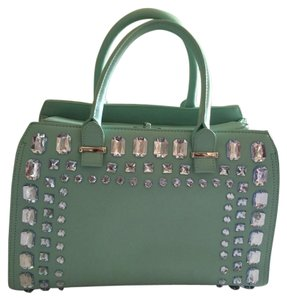 ShoeDazzle Satchel in Light Blue