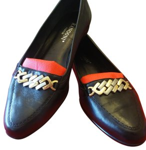 Rangoni Leather Black Flats