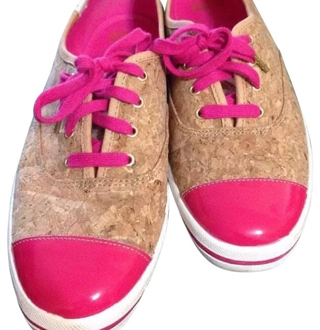 Item - Pink & Cork Keds Corkie and Patent Leather Sneakers Size US 10 Regular (M, B)