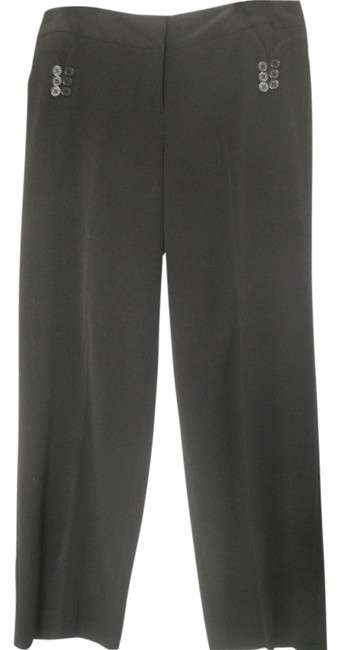 Jenni Max NYC Straight Pants Black