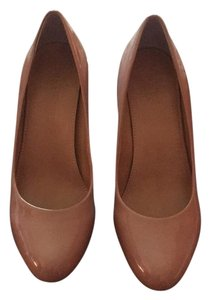 J.Crew Bronzed clay/nude Wedges