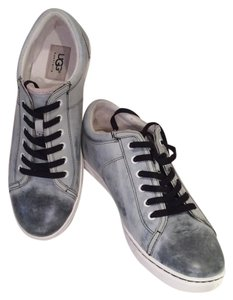 UGG Australia Leather Sneakers Grey / Black Athletic