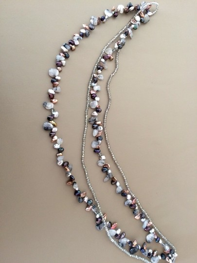Other Adjustable Double Strand Necklace