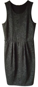 Anthropologie Bordeaux Knit Sleeveless Dress