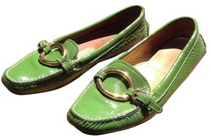 Prada Lime green Flats