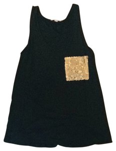 Romeo & Juliet Couture Top Black And Gold