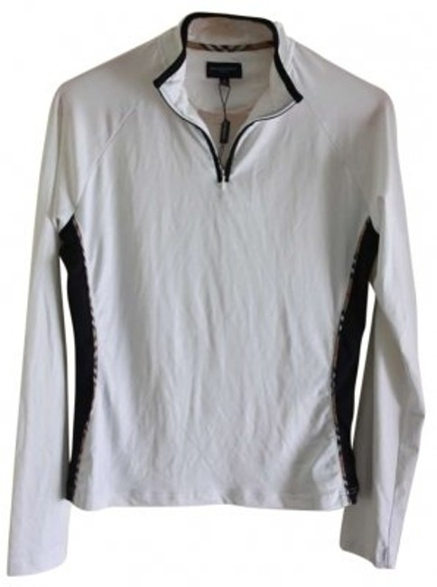 Preload https://item5.tradesy.com/images/burberry-white-with-black-trim-activewear-top-size-8-m-29-30-158649-0-0.jpg?width=400&height=650