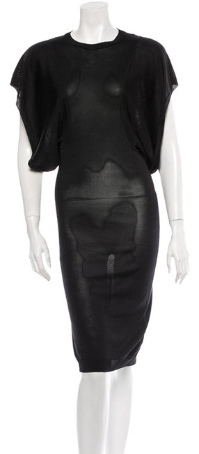 Preload https://img-static.tradesy.com/item/1586555/emilio-pucci-black-runway-knitted-silk-above-knee-cocktail-dress-size-0-xs-0-0-650-650.jpg