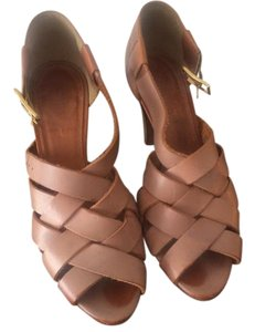 J.Crew natural leather Sandals