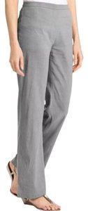 Eileen Fisher Straight Pants Gray