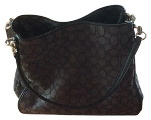 Coach Tote Pheobe Shoulder Bag Tote in Black and gray