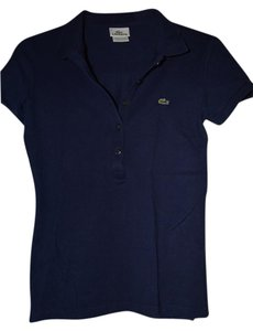 Lacoste Polo Shirt Button Down Shirt Navy