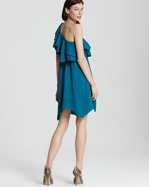 Rebecca Taylor Verde One Tiered Dress