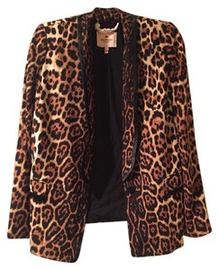 Juicy Couture Jacket Leopard Blazer