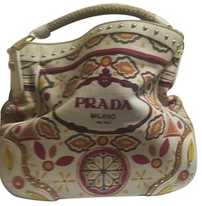 Prada Tote in Colorful