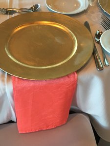 Crushed Taffeta Table Napkins 20