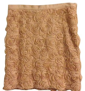 Banana Republic Skirt Cream