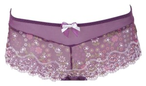 Parfait Affintas Evelyn Boyshorts Panties w/ Bow, Sz. S, M, L, XL