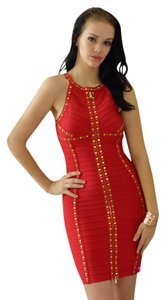 MADISON JAMES Studded Bandage Dress