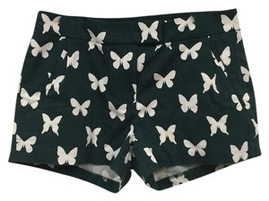 J.Crew Mini/Short Shorts Green, White