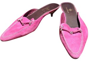 Cole Haan Fuscia / pink Mules