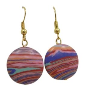 Other Pre-Owned Fun Colors Fashion Earrings w Free Shipping