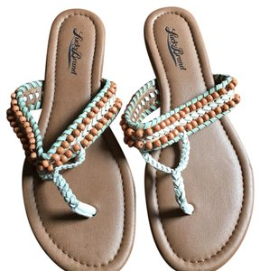 Lucky Brand White Sandals