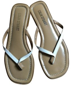 Colin Stuart White Sandals