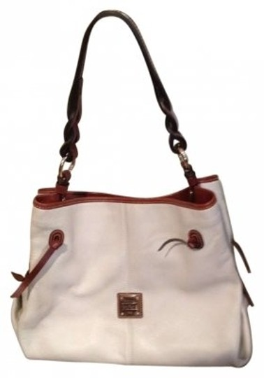 Preload https://item5.tradesy.com/images/dooney-and-bourke-white-tan-leather-hobo-bag-158689-0-0.jpg?width=440&height=440