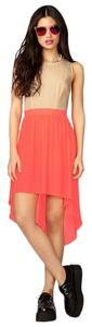 Forever 21 short dress Neon Pink Lo Tie Back Cutout on Tradesy
