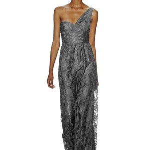 Amsale Pewter Dress