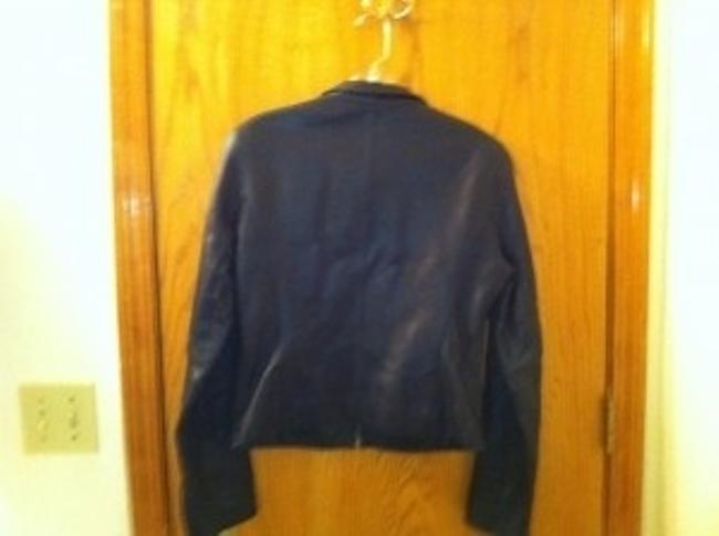 Wilsons Leather Cropped Motorcycle Jacket