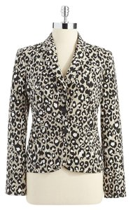 Calvin Klein Petite Animal Print Multicolored Blazer