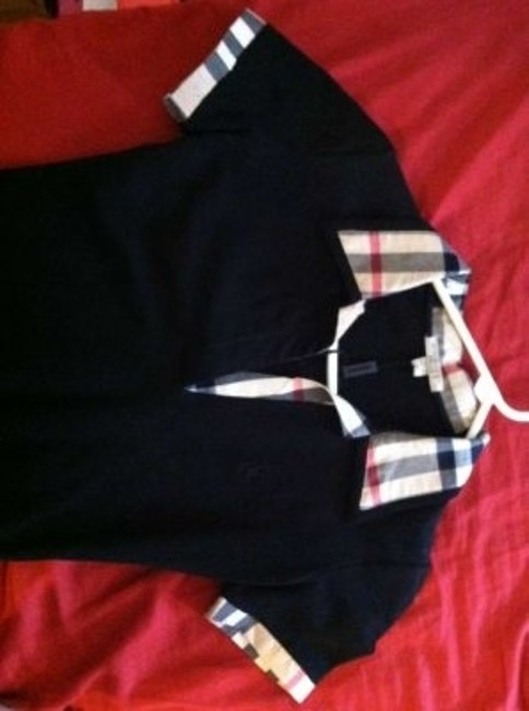 Burberry Top Black with print