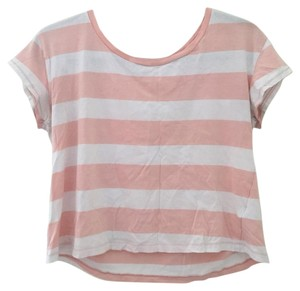 Forever 21 T Shirt Pink and white