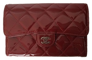 Chanel Dark Red Berry Clutch