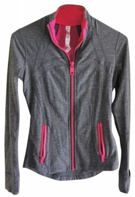 Preload https://img-static.tradesy.com/item/158699/lululemon-gray-with-fuschia-activewear-jacket-size-4-s-27-0-0-650-650.jpg